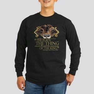 Shakespeare Hamlet Quote Long Sleeve Dark T-Shirt
