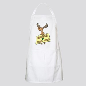 Moose Gone Wild Apron