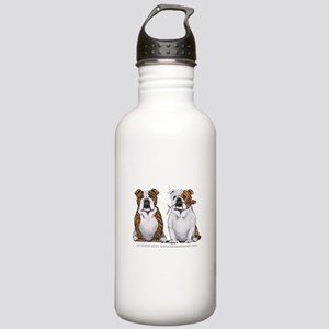 Bulldog Romance Stainless Water Bottle 1.0L