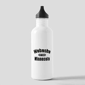 Wabasha Established 1826 Stainless Water Bottle 1.