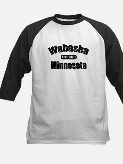 Wabasha Established 1826 Kids Baseball Jersey