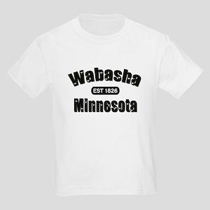 Wabasha Established 1826 Kids Light T-Shirt