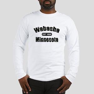 Wabasha Established 1826 Long Sleeve T-Shirt