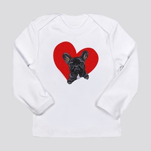 French Bulldog Love Long Sleeve Infant T-Shirt