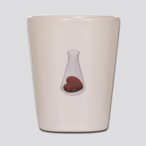 LoveChemistryBeaker071209 Shot Glass
