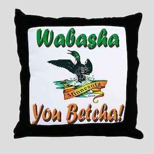 Wabasha You Betcha Throw Pillow