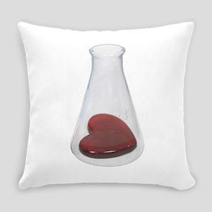LoveChemistryBeaker071209 Everyday Pillow