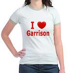 I Love Garrison Jr. Ringer T-Shirt