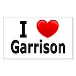 I Love Garrison Sticker (Rectangle 10 pk)