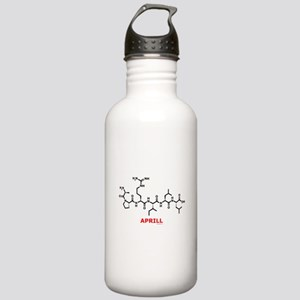 Aprill molecularshirts.com Stainless Water Bottle