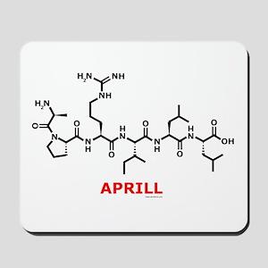 Aprill molecularshirts.com Mousepad