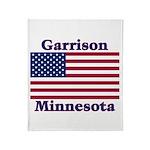 Garrison US Flag Throw Blanket