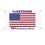 Garrison US Flag Banner