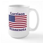 Garrison US Flag Large Mug