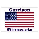 Garrison US Flag Large Poster