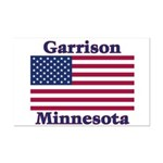 Garrison US Flag Mini Poster Print