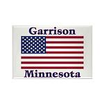 Garrison US Flag Rectangle Magnet