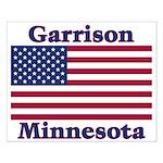 Garrison US Flag Small Poster