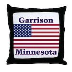 Garrison US Flag Throw Pillow