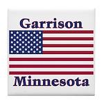 Garrison US Flag Tile Coaster