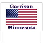 Garrison US Flag Yard Sign