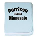 Garrison Established 1937 baby blanket