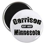 Garrison Established 1937 Magnet