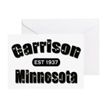 Garrison Established 1937 Greeting Card