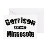 Garrison Established 1937 Greeting Cards (Pk of 10