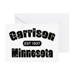 Garrison Established 1937 Greeting Cards (Pk of 20