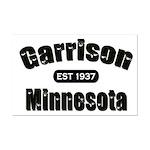 Garrison Established 1937 Mini Poster Print