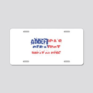America's Greatest Meat Cle Aluminum License Plate