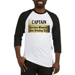 Garrison Beer Drinking Team Baseball Jersey