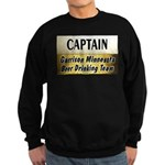 Garrison Beer Drinking Team Sweatshirt (dark)