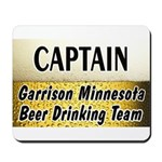 Garrison Beer Drinking Team Mousepad