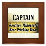 Garrison Beer Drinking Team Framed Tile