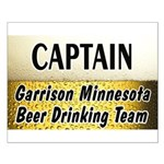 Garrison Beer Drinking Team Small Poster