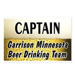 Garrison Beer Drinking Team Postcards (Package of