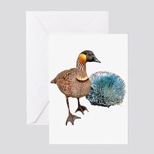 Hawaiian Islands NeNe - Greeting Card