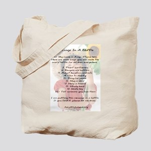 Amy's Message In A Bottle Tote Bag