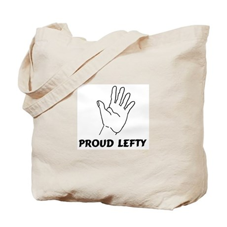 Proud Lefty Tote Bag