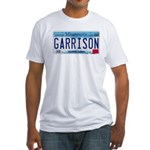 Garrison License Plate Fitted T-Shirt