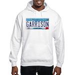 Garrison License Plate Hooded Sweatshirt