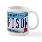 Garrison License Plate Mug