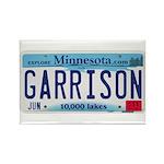 Garrison License Plate Rectangle Magnet (100 pack)