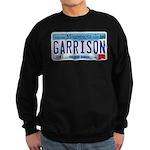 Garrison License Plate Sweatshirt (dark)