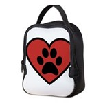 always in my heart Neoprene Lunch Bag