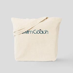 cool new swim coach tote bag