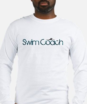 Cool New Swim Coach Long Sleeve T-Shirt