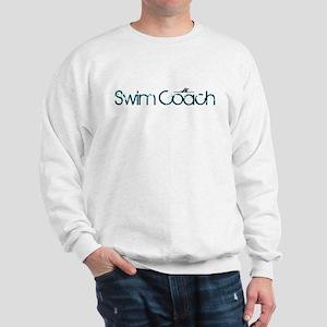 Cool New Swim Coach Sweatshirt